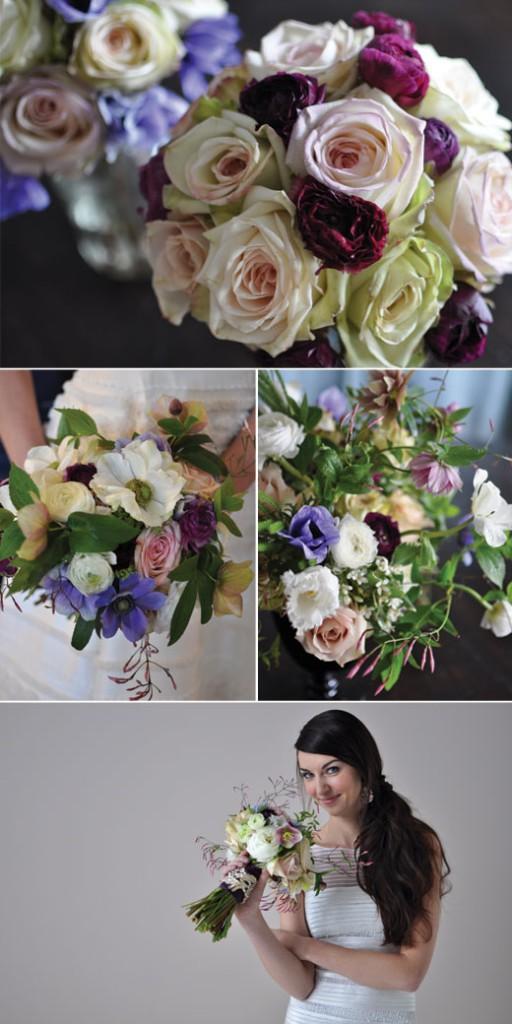 flower details from Seattle Metropolitan Bride & Groom Royal Shoot