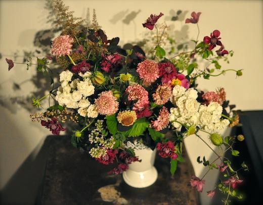 Seattle wedding flowers centerpiece