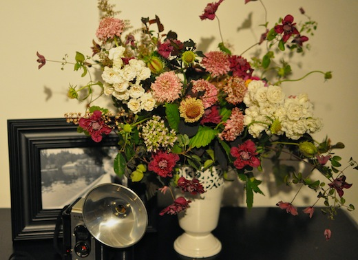 Seattle vintage wedding flowers