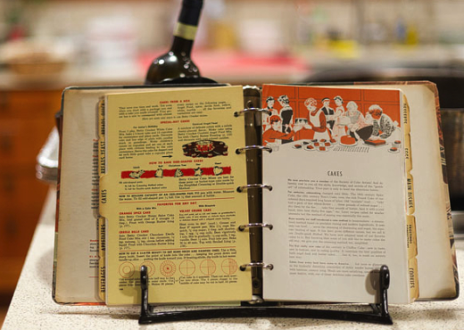 retro cook book