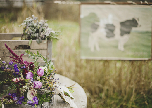 farm bridal bouquet