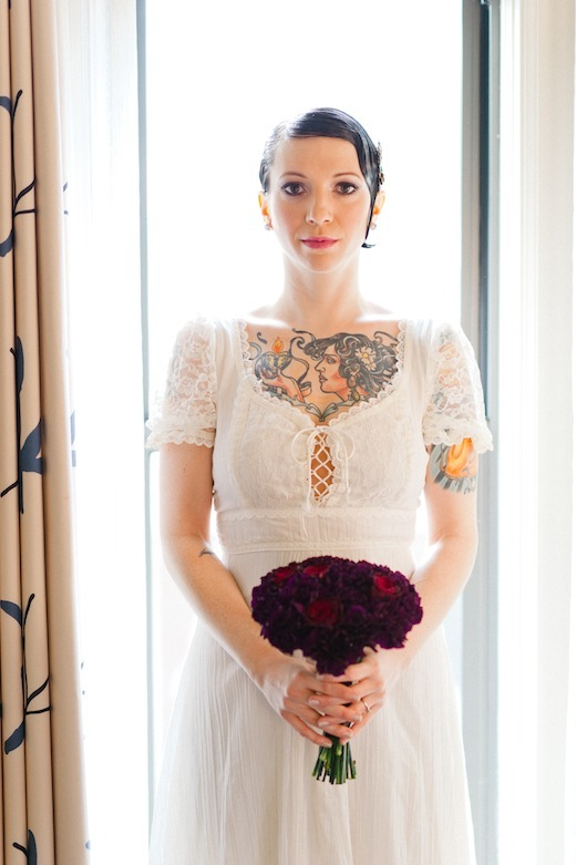 edgy wedding flowers seattle