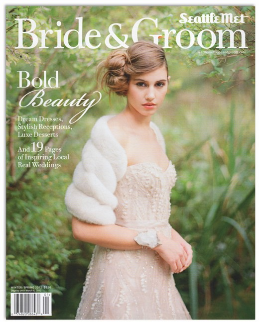 finch and thistle in seattle met bride and groom