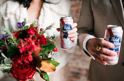 punk wedding flowers