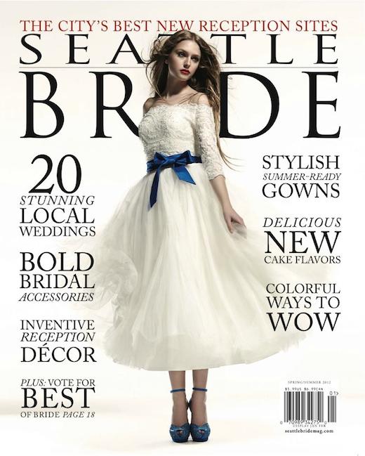 finch & thistle in Seattle bride