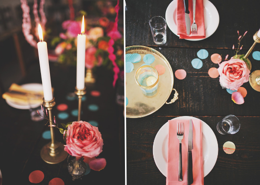 brass and gold tabletop decor design sponge