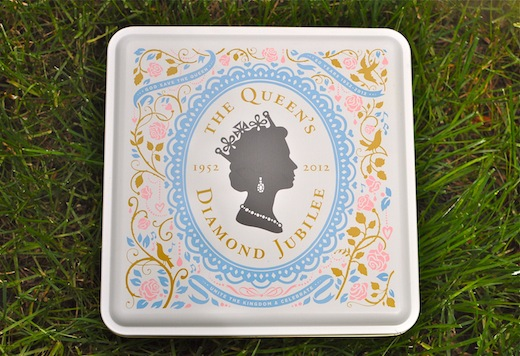 diamond jubilee commemorative tin
