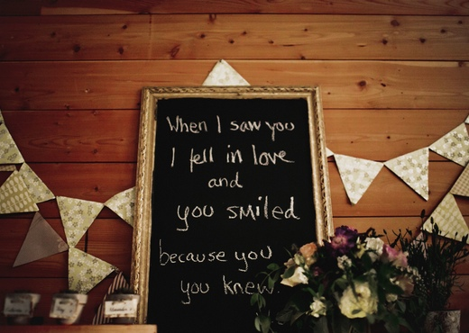 when i saw you i fell in love and you smiled because you knew quote