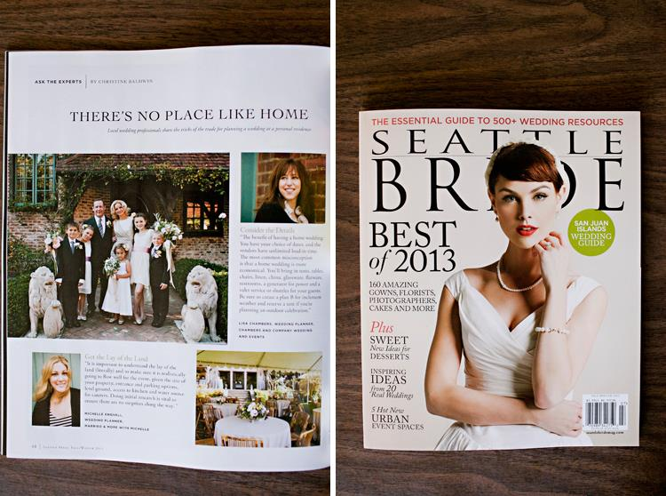 finch and thistle, Seattle Bride