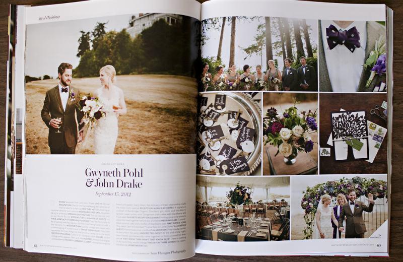 Seattle floral wedding designer, sean flanigan, rachel bowes, finch and thistle
