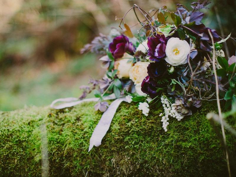 Seattle woodland wedding inspiration