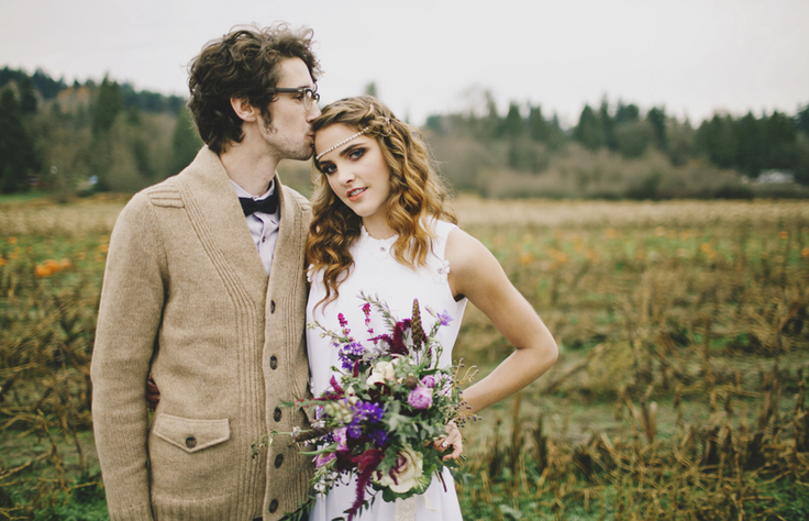 finch and thistle, chantal andrea, winter wedding, seattle