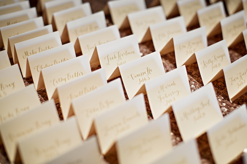 finch and thistle, seattle event designer, la happy, calligraphy