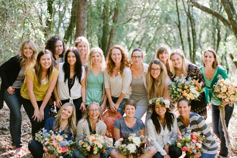 jose villa, flowerwild, calistoga, wine country wedding
