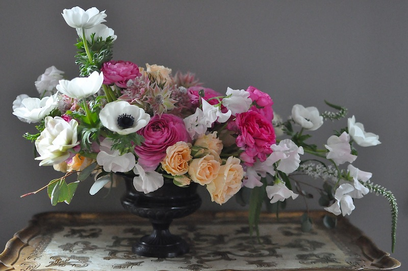 seattle floral and event designer spring flowers