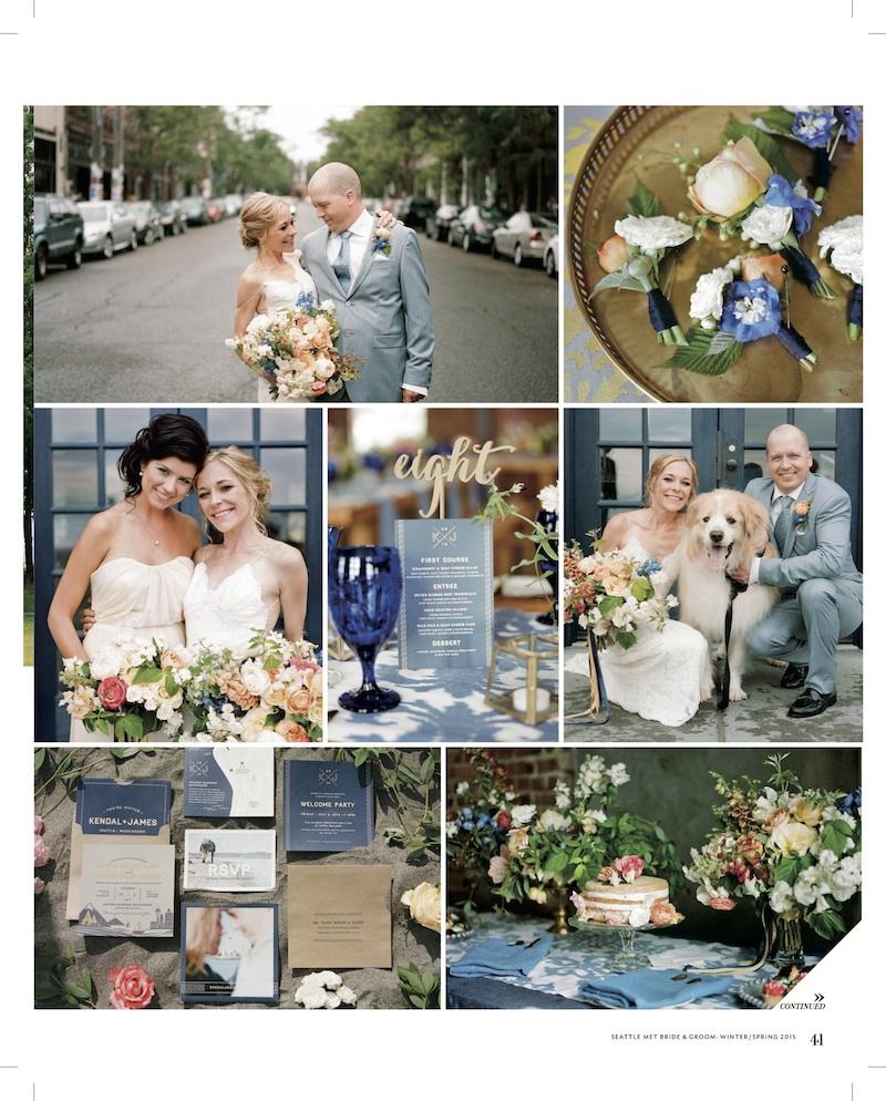Seattle Met Bride & Groom Finch & Thistle