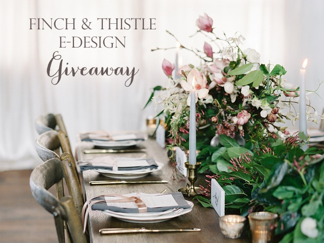 wedding design giveaway, free event design service, wedding designer, mood board, design board